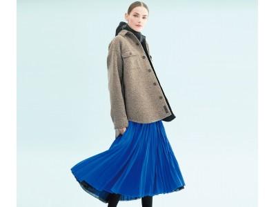 これまでとは違う美しさ!ルミノーゾ・コムサの360度プリーツスカート