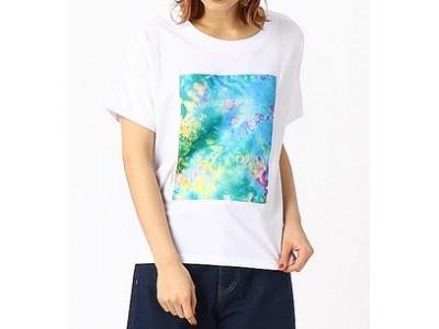 スマホでパシャリ!フラッシュ撮影で文字が浮かび上がるTシャツ