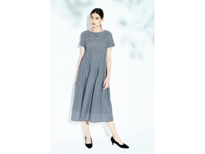 山形県米沢市の「ジャカード織り」!ベストセラーを進化させたドレス