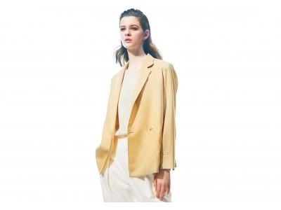 暑い夏も働く女性の味方!コムサのウォッシャブルジャケットはサマーウールで涼しく快適