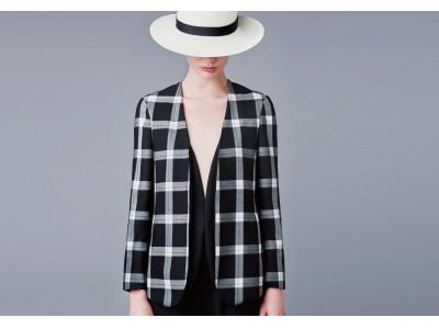 コムサのジャケットはサマーウールで涼しく快適!チェックデザインで秋テイストにシフトチェンジ