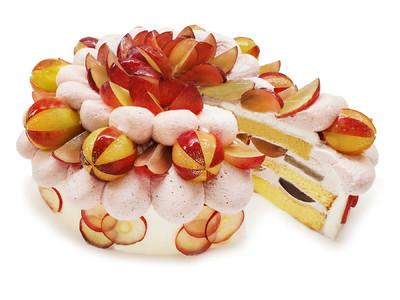 カフェコムサは毎月22日がショートケーキの日!8月は旬の石川県産プレミアムぶどう「ルビーロマン」を使用したショートケーキを限定展開