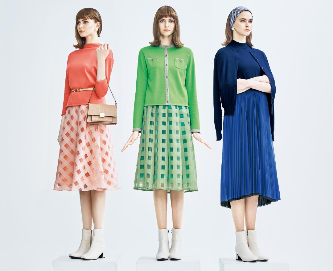 色で気分をハッピーに!60年代調クラシックをアレンジしたルミノーゾ・コムサの世界観