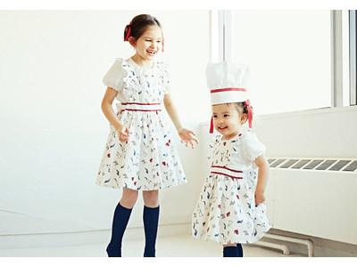 ″自然″と″生き物″の関係などの話ができるきっかけに!日本の貴重な動物をプリントしたエプロン風ドレスを発売