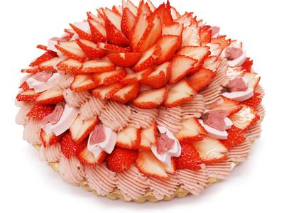 春爛漫!フレッシュフルーツで美しい日本の桜を表現したケーキを発売