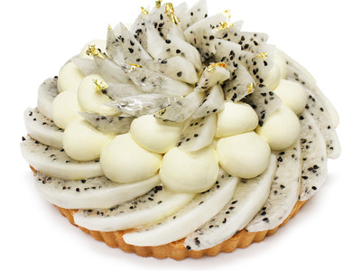 幸福を呼ぶ、伝説の果実!カフェコムサからコロンビア産「ハニーピタヤ」とパッションフルーツムースのケーキが登場