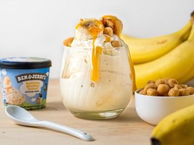 アメリカで古くから愛されるデザートがアイスクリームに!『バナナウイスキーフォスター』新発売!