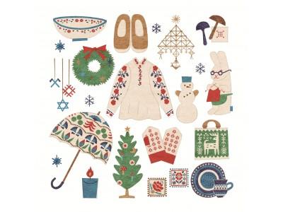 心あたたまる刺繍、編み物、陶器など素敵なクラフトがあふれる!阪急うめだ本店「東欧・バルト三国 やさしい冬時間」