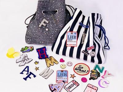 【阪急百貨店うめだ本店】「シャルマントサック」「チー」のバッグに、「アトリエ ノティファイ」のワッペンや刺繍などでカスタマイズを楽しむイベント!「I am mine.~自分で作る私の好きなもの~」