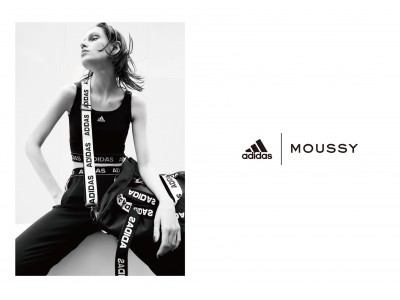 MOUSSY(マウジー)adidas&MOUSSY共同開発商品第四弾、発売決定!