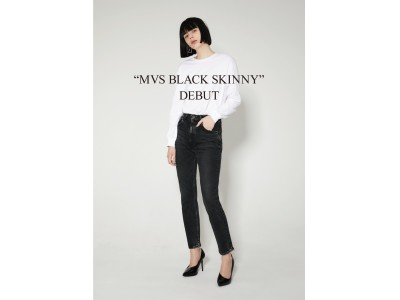 MOUSSY(マウジー)MVS BLACK SKINNY JEANS発売