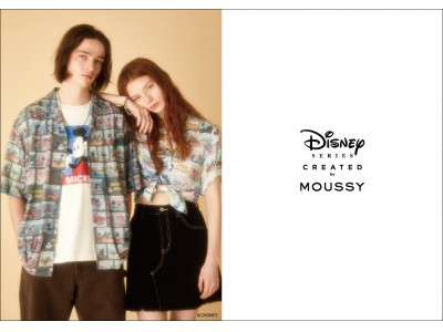 MOUSSY(マウジー)スペシャルコレクション「Disney SERIES CREATED by MOUSSY」2019 SUMMER COLLECTION発売