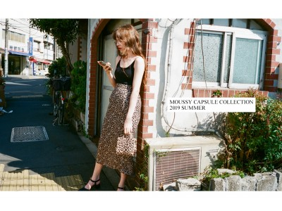 MOUSSY(マウジー)Capsule collection 2019 late summerを発売