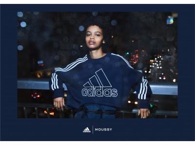 MOUSSY(マウジー)adidas|MOUSSY共同開発商品第六弾、発売決定!