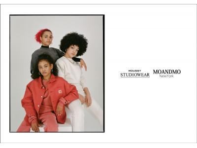 MOUSSY STUDIOWEAR(マウジースタジオウェア)アメリカ・ニューヨークのブランドMOANDMO NEW YORK(モーアンドモーニューヨーク)とのコラボレーションアイテムを発表