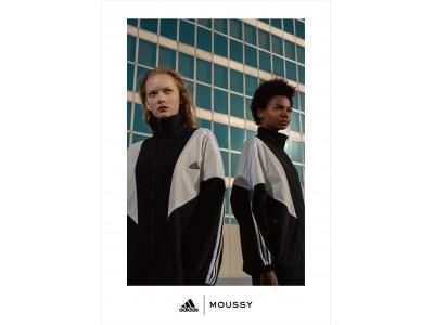 adidas(アディダス)とMOUSSY(マウジー)による共同開発がファイナルイヤーに突入!第七弾となる2020SSコレクションを発表
