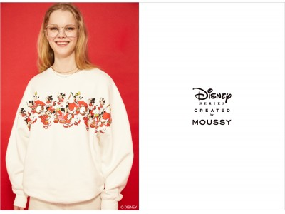 MOUSSY(マウジー)スペシャルコレクション「Disney SERIES CREATED by MOUSSY」2020 EARLY SUMMER COLLECTION発売