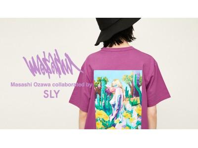 SLY(スライ) 画家・小澤 雅志氏とのコラボレーションアイテムが発売