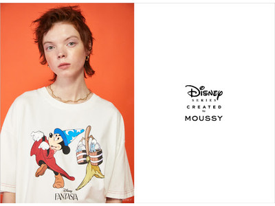 MOUSSY(マウジー)スペシャルコレクション「Disney SERIES CREATED by MOUSSY」2021 SUMMER COLLECTION