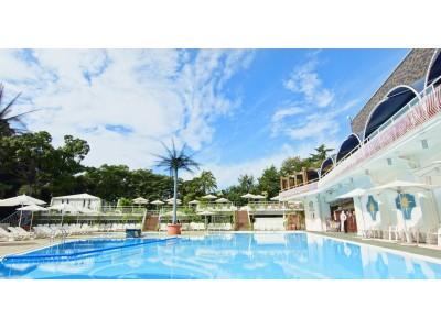 水温32℃で先行オープン!10連休は泊まってお得な最強プールで決まり!