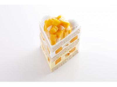 1日20個限定!完熟マンゴーとろける夏季限定の新作ケーキ!