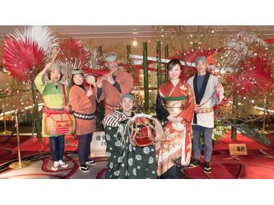 """最大9連休!年末年始は、大阪城のほとりで贅沢ステイ。お正月は、3世代揃って""""ホテルで家族団らん""""を!"""