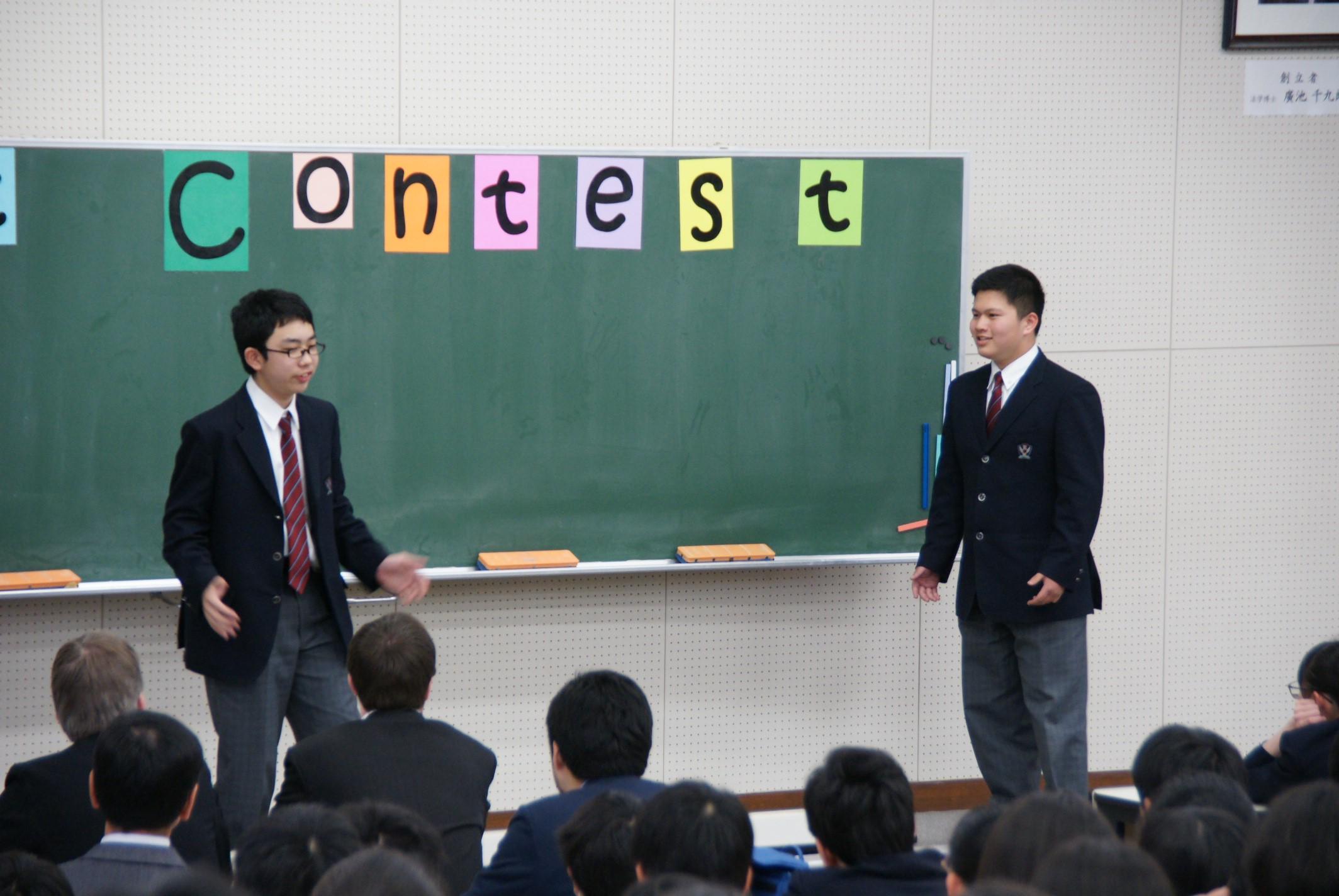 一から全て生徒がつくる120秒の英語寸劇 全てが英語の世界「スキットコンテスト2020」開催