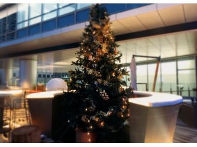 カップルにおすすめ!クリスマスはドレスアップして都心の夜景を眺めながらロマンティックなクリスマスディナーを!