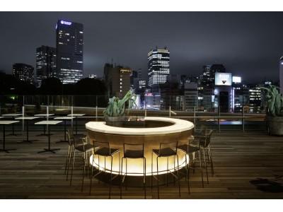 """東京ガーデンテラス紀尾井町のステーキハウス「NoMad Grill Lounge」ルーフトップテラスに、""""NoMad HANAMI Lounge""""が期間限定オープン!"""