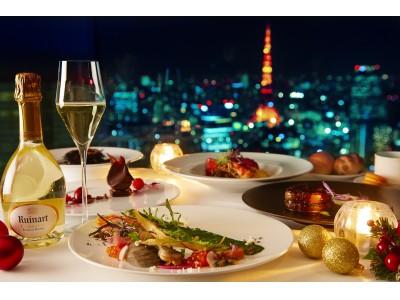 東京随一の夜景を眺めながら特別なクリスマスディナーを・・・Fish Bank TOKYOのクリスマスディナーご予約開始!