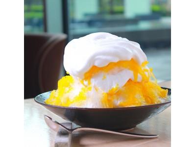 NoMad Grill Loungeでは暑い夏にぴったりなマンゴーかき氷をスタート!!