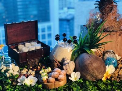 南国リゾートをイメージしたデザートワゴンがFish Bank TOKYOに登場!旬のフルーツを使用したサマースイーツ!!