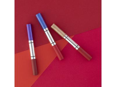 RMK渾身の新・レッドルージュが誕生 赤のパワーを大胆にまとい、カラーグロスで色気を放つ魅惑的な唇に
