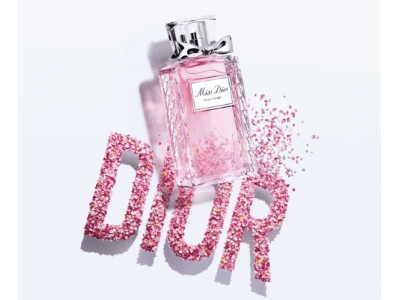 摘みたてのバラの花束のように香るフレッシュなミス ディオールの新作誕生
