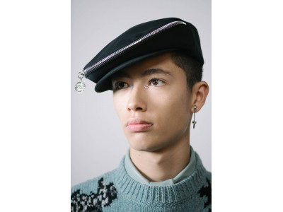 ジュディ・ブレイムにオマージュを捧げたDIYパンクメイク:ウインター2020-2021 メンズコレクション
