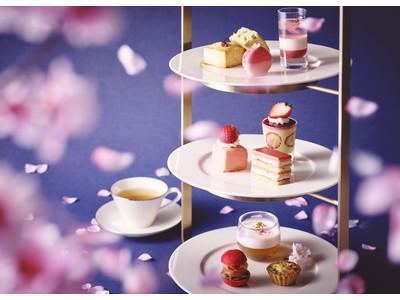 春爛漫、「桜いちごアフタヌーンティー」を3月1日より提供
