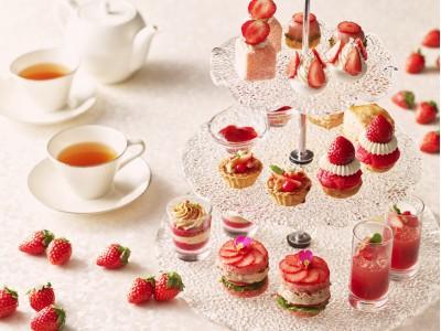 ストリングスホテル東京インターコンチネンタル 令和初の年明けを苺で祝う「新春いちごスイーツコレクション 2020」
