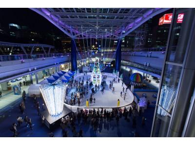 『氷じゃない』スケートリンクが今年もオアシス21に! 「豊田合成リンク」11月18日(土)から開催 ~8年間で累計30万人以上が来場!冬の人気スポットとして定着!~