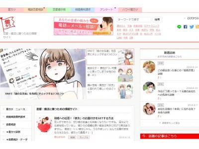恋愛情報サイト「愛カツ(aikatu.jp)」月間ページビュー数が2,700万に到達!