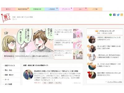 恋愛情報サイト「愛カツ(aikatu.jp)」月間ページビュー数が3,500万に到達!