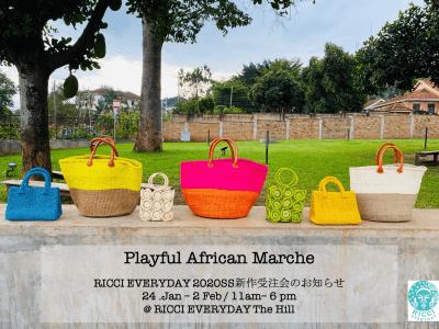 ウガンダ発のファッションブランド「RICCI EVERYDAY」、2020年春夏アイテムの受注会を本日より開催