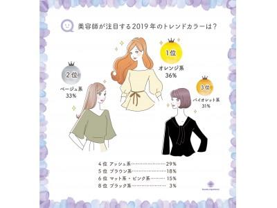 アッシュなどの寒色系人気からいよいよ変化アリ!美容師72人が選ぶ 2019年秋のトレンドヘアカラーはオレンジ!