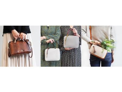 シンプルコーデにトレンド感をプラス!「ジュエルナローズ」の配色が可愛い新作ショルダーバッグ