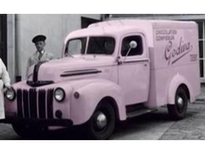 ~Give forward.~ゴディバのピンクバンが、ついに現代に復活します。「復刻版ピンクバン」が大切な人とシェアいただくゴディバ商品を無償提供