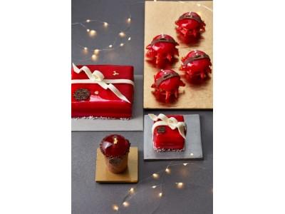 【GODIVA】クリスマスギフトをイメージしたケーキやクリスマス限定のマカロンが登場!「ATELIER de GODIVA」 X'mas限定スイーツ