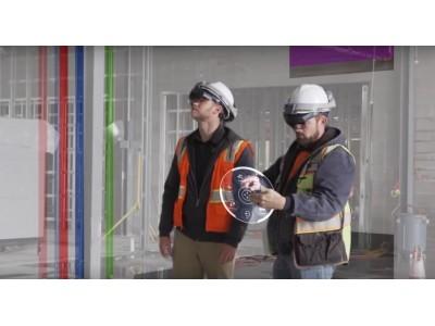 施工の進捗・品質管理が現場完結するクラウドサービスTrimble Connect for HoloLensをリリース