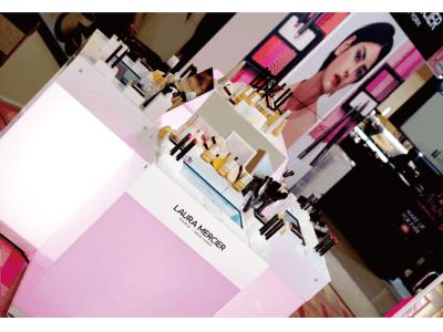 GENEROSITY、資生堂「LAURA MERCIER」にデジタルコンテンツを提供!3月24日~26日@阪急うめだ本店