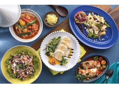 シェラトン・グランデ・トーキョーベイ・ホテル 5月限定『地中海フードフェア』開催 ~世界無形文化遺産の地中海料理がオリジナルアレンジで登場~