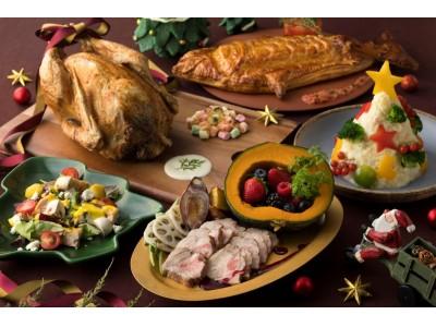 シェラトン・グランデ・トーキョーベイ・ホテル 12月限定『ファミリークリスマスブッフェ』開催 ~テーブルを色とりどりに飾る華やかメニューで思い出に残るクリスマスを~