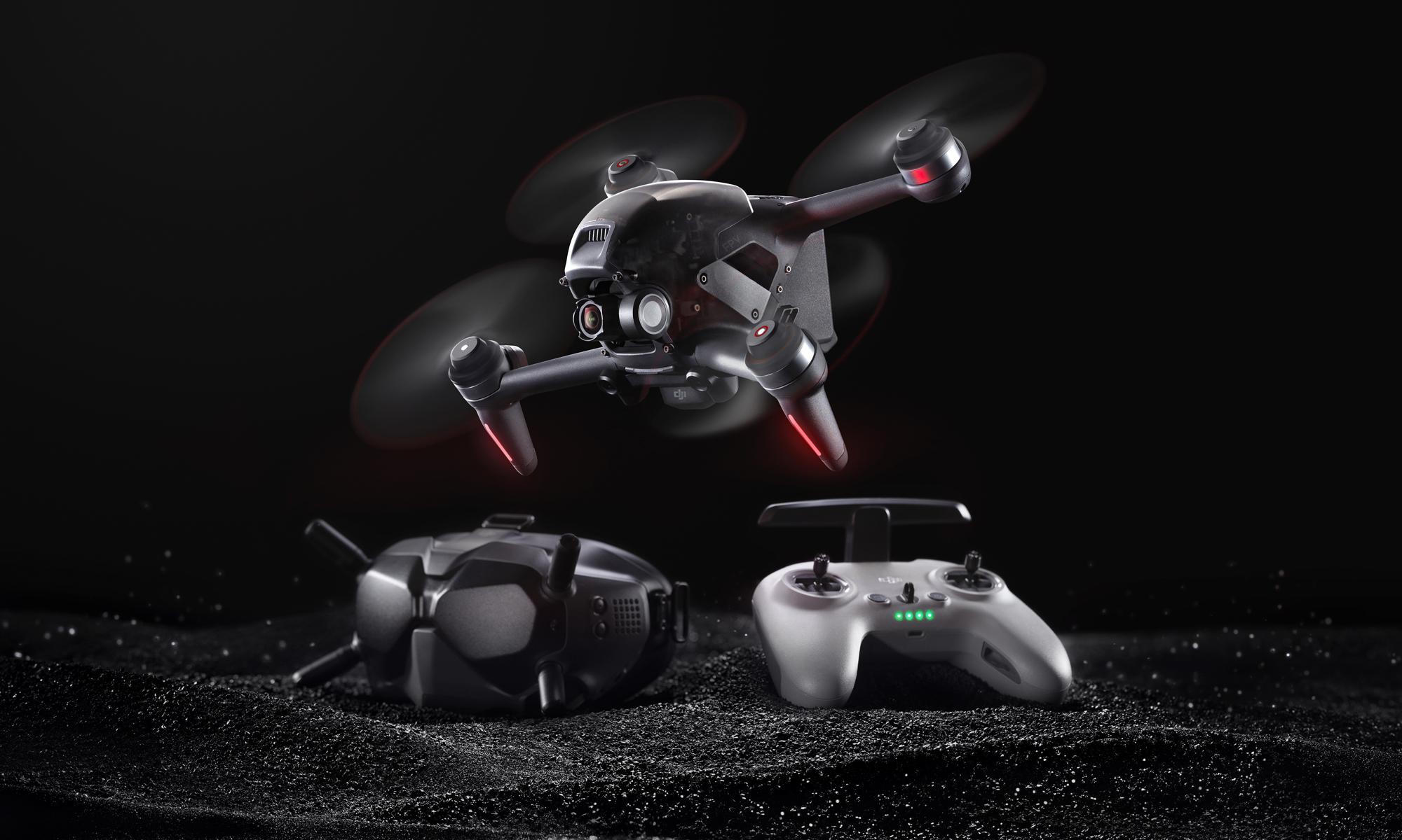 ドローン飛行を新たな次元へ。DJI、新製品「DJI FPV」を発表。